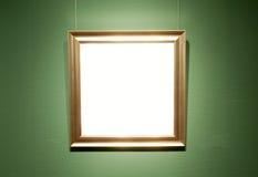 Scheda di mostra di arte Fotografia Stock Libera da Diritti