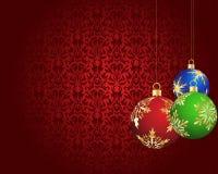Scheda di natale (nuovo anno) Fotografie Stock Libere da Diritti