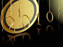 Scheda di nuovo anno 2010 Immagine Stock