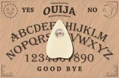 Scheda di Ouija Immagine Stock Libera da Diritti