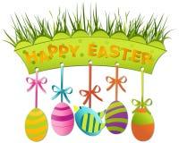 Scheda di Pasqua royalty illustrazione gratis