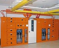 Scheda di potenza del centro di dati Fotografie Stock