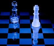 Scheda di scacchi Fotografie Stock Libere da Diritti