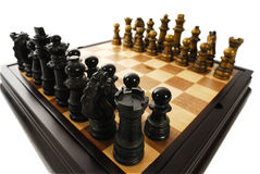Scheda di scacchi Immagine Stock Libera da Diritti