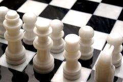Scheda di scacchi Fotografie Stock