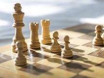 Scheda di scacchi immagine stock