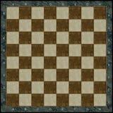 Scheda di scacchi di pietra Immagine Stock