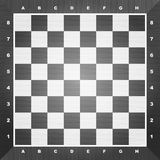 Scheda di scacchi vuota Immagine Stock Libera da Diritti