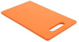Scheda di taglio arancione Immagine Stock Libera da Diritti