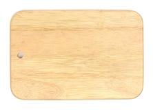 Scheda di taglio di legno Fotografie Stock Libere da Diritti