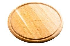 Scheda di taglio di legno isolata Fotografia Stock Libera da Diritti
