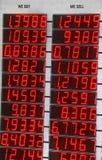 Scheda di valuta Fotografie Stock Libere da Diritti