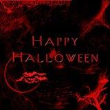 Scheda digitale di Halloween Immagine Stock Libera da Diritti