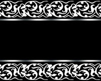 Scheda elegante Immagini Stock