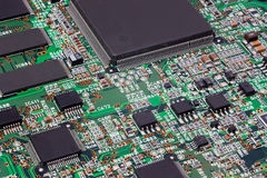 Scheda elettronica Immagini Stock