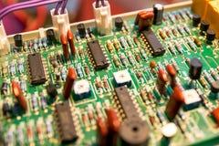 scheda elettronica Immagini Stock Libere da Diritti