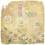 Scheda felice dell'annata di Pasqua. illustrazione vettoriale