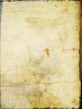 Scheda macchiata annata Fotografia Stock