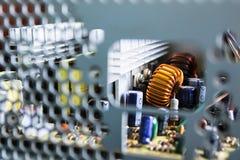 Scheda madre del computer Fotografie Stock