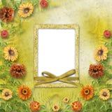 Scheda Multicoloured per il saluto Fotografia Stock Libera da Diritti