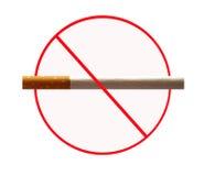 Scheda non fumatori Immagine Stock Libera da Diritti