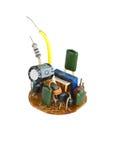 Scheda per una lampada economizzatrice d'energia Fotografia Stock