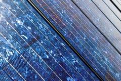 Scheda solare anziana Fotografie Stock