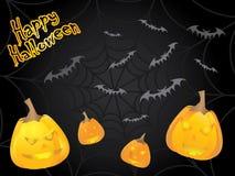 Scheda speciale di Halloween Immagini Stock