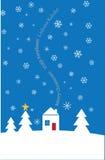 Scheda testuale multilingue di festa royalty illustrazione gratis