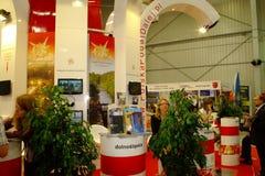 Scheda turistica polacca al TT Varsavia Immagini Stock Libere da Diritti