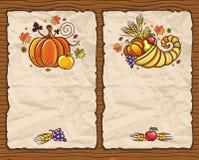 Schede 1 di ringraziamento royalty illustrazione gratis