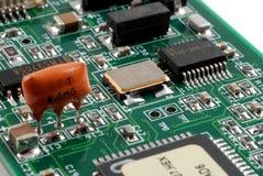 Schede di elettronica Fotografia Stock