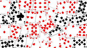 Schede di gioco illustrazione di stock