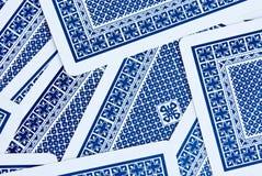 Schede di gioco Fotografie Stock Libere da Diritti
