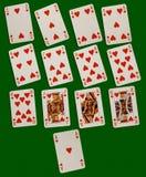 Schede di gioco Fotografia Stock