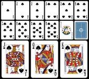 Schede di gioco classiche - forcelle royalty illustrazione gratis