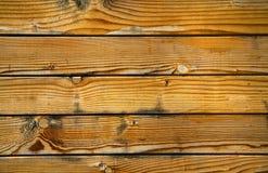 Schede di legno anziane Immagine Stock