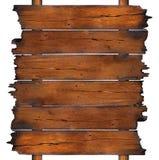 Schede di legno carbonizzate Immagine Stock