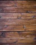 Schede di legno come priorità bassa o struttura marrone Fotografie Stock