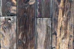 Schede di legno esposte all'aria Fotografia Stock