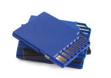 Schede di memoria di deviazione standard Fotografie Stock