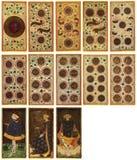 Schede di Tarot - Arcanum Fotografie Stock Libere da Diritti