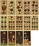 Schede di Tarot - Arcanum Immagine Stock