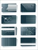 Schede di tecnologia Fotografie Stock
