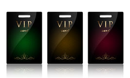 Schede di VIP Immagine Stock