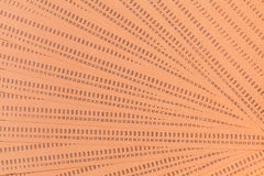 Schede perforate inutilizzate d'annata del computer Immagini Stock