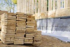 Schede sul cantiere Fotografia Stock Libera da Diritti