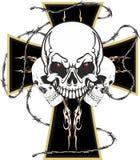 schedel royalty-vrije stock afbeelding