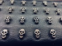 schedels royalty-vrije stock afbeelding