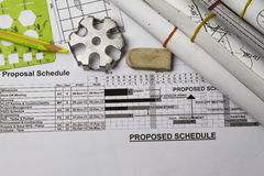 Schedule Stock Photography